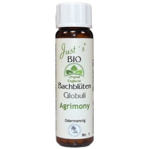 Agrimony / Odermennig Globuli original englische Bio Bachblüten- alkoholfrei