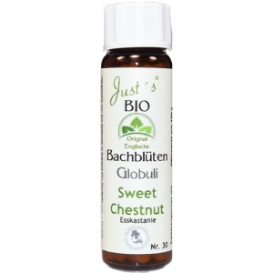 Sweet Chestnut Nr. 30 Globuli Just´s BIO Bachblüten alkholfrei