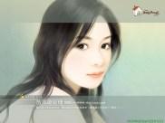 wallcoowatercolorpaintingscovergirlsb514