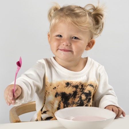 Addons sølefri barneskje/ spill-free spoon for children