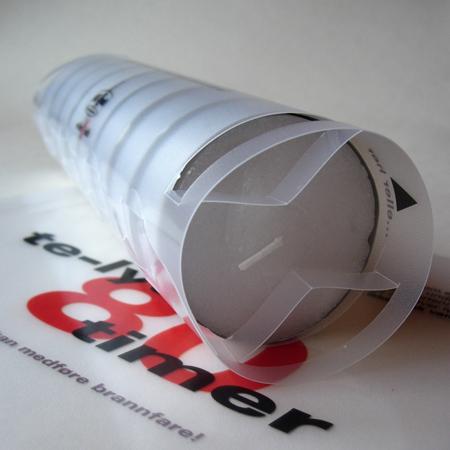 Lundi emballasje folie og lukking / packaging and lock