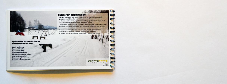 Designprofil Lundedalen i Skien / design profile