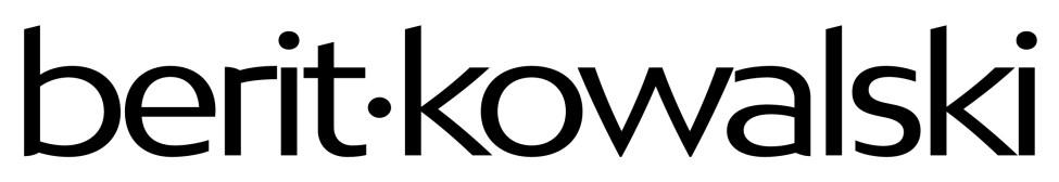 Logo Berit Kowalski - #1hjelptilinsta - designet sammen med Zenia Camilla