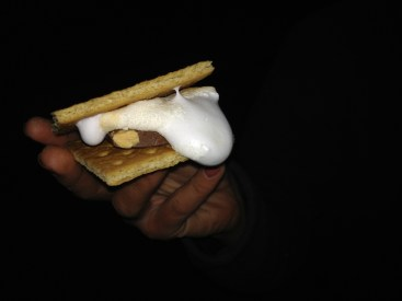 It took a few tries but the last smore was the finest.