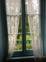 window, monet, jardin, giverny