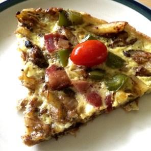 breakfast, pizza, brunch, homemade, recipe