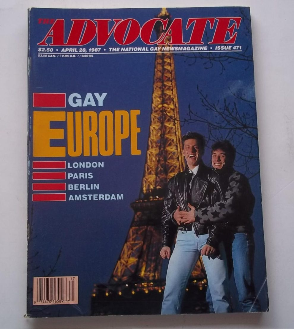 The Advocate Cover