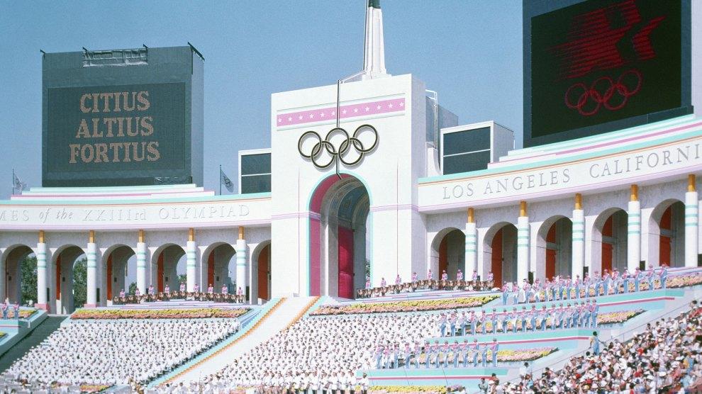 1984 Summer Olympics Opening Ceremony