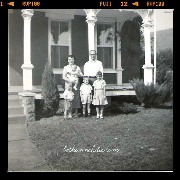 The Brown Family circa 1960