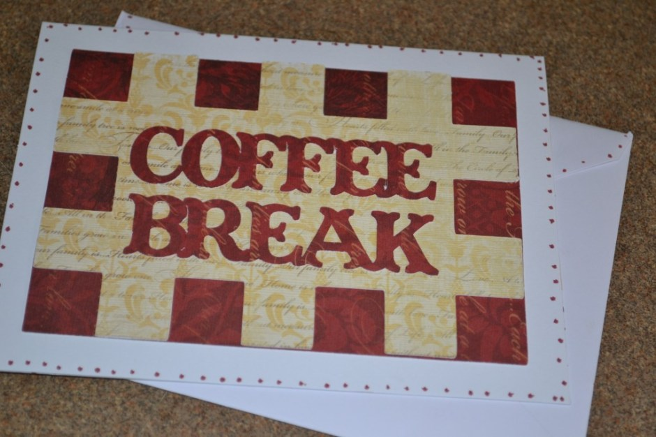 Coffee Break card