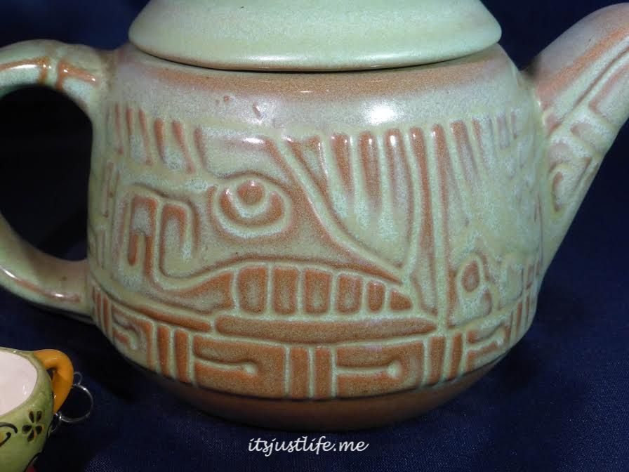 Frankoma Teapot on itsjustlife,me