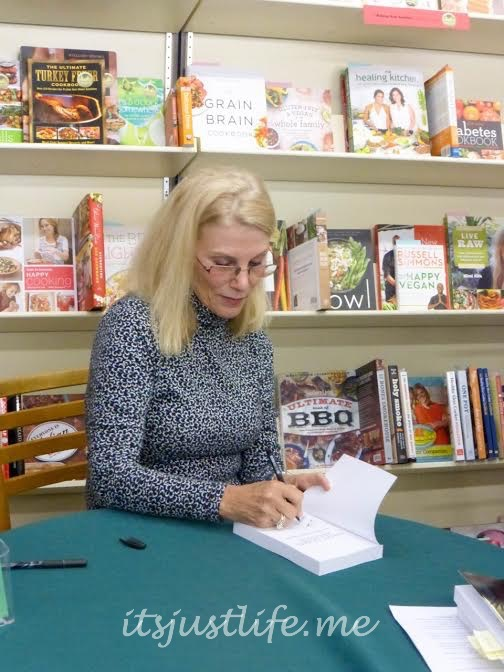 Adair signed a book just for one lucky reader of my blog. Don't forget to sign up to win.
