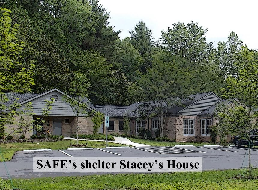 SAFE's shelter Stacey's House