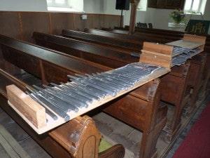 Orgelpfeifen Gottesgrün