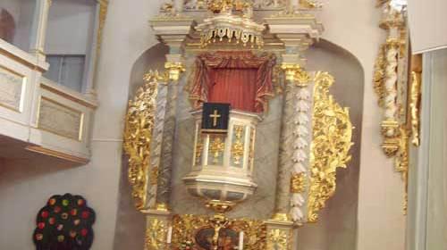 Kirche Fraureuth Altar