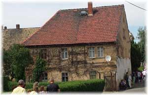 Haus auf dem Dorf