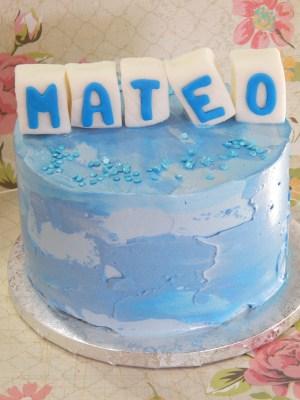Cake - Letras bebé 4