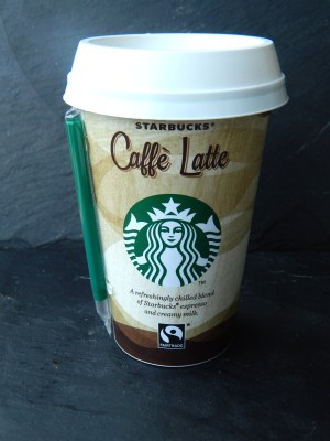 Caffé latte Starbucks 10