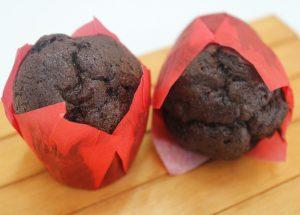 2 Mini muffins de chocolate 16