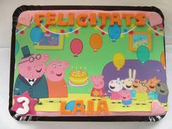 Pasteles de fondant con foto 26 Pasteles fiestas infantiles