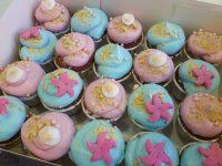 """Mini cupcakes """"Fondo del Mar"""" 9"""