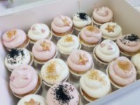 Mini cupcakes Rosa & Dorado 7