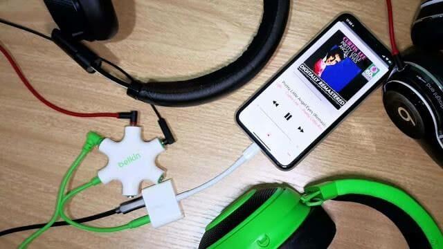 รีวิวหัวแปลง Belkin RockStar เสียบหูฟังพร้อมชาร์จ iPhone และตัวต่อขยายเป็น 5 เครื่อง - รีวิวหัวแปลง Belkin RockStar เสียบหูฟังพร้อมชาร์จ iPhone และตัวต่อขยายเป็น 5 เครื่อง
