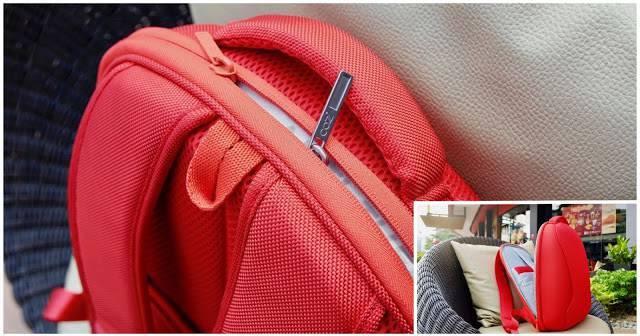 - collage 6 - รีวิวกระเป๋าเป้กันขโมย Cozistyle City Backpack ARIA ถึกทนและมีสไตล์