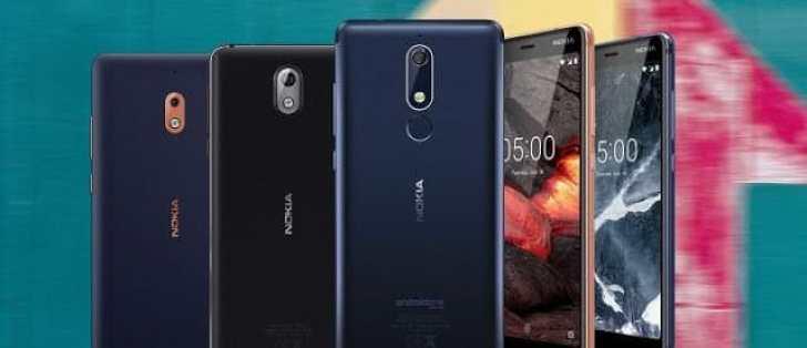 - Nokia เปิดตัว Nokia 2.1, 3.1 และ 5.1 เน้นตลาดราคาถูก พร้อมประกาศอัปเดตโหมดกล้องแมนวลให้ Nokia 8