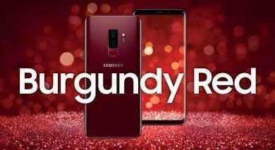 - SamsungGalaxy S92B NewColor BurgundyRed 1 - เตรียมพบกับ Samsung Galaxy S9+ สีแดง รับฟรีไอเท็มจาก MILIN, ISSUE, ICONIC และส่วนลดที่ M.A.C. และ SEPHORA