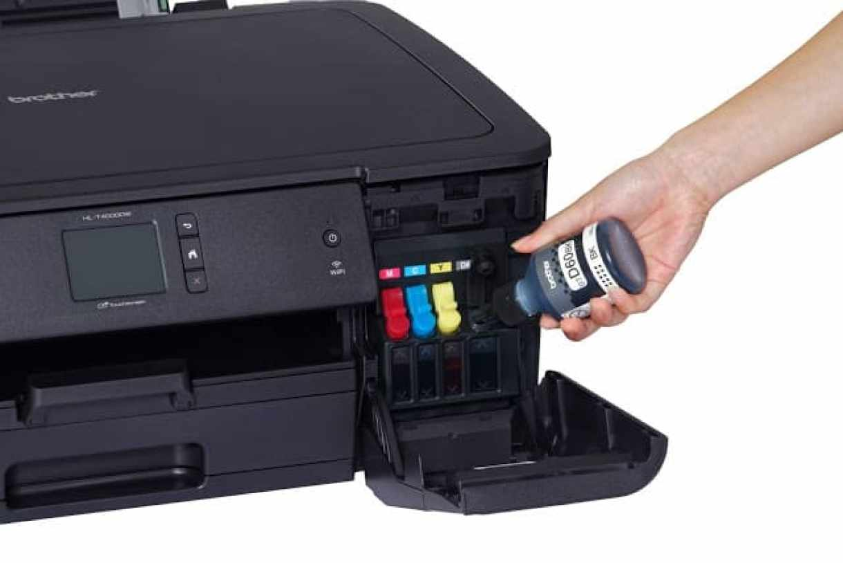 - HL T4000DW Refill 2 - Brother เปิดตัวเครื่องพิมพ์อิงค์เจ็ทและเครื่องพิมพ์อิงค์เจ็ทมัลติฟังก์ชันระบบรีฟิลแท็งก์ขนาด A3