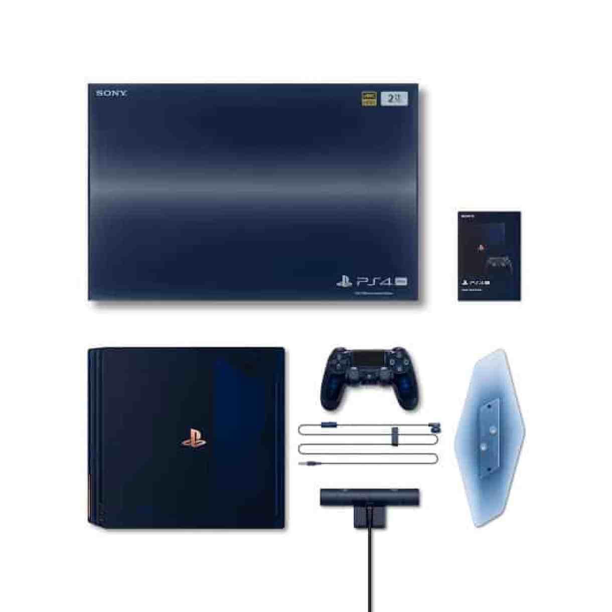 - PS4Pro 500Million acc 2 - Sony เปิดตัว PS 4 Pro รุ่นพิเศษเฉลิมฉลองยอดจำหน่ายเกิน 500 ล้านเครื่อง มาในแบบโปร่งแสงเห็นไส้ใน