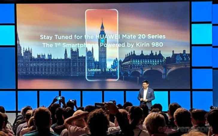- Huawei เปิดตัวชิปเซ็ต Kirin 980 อย่างเป็นทางการแล้ว เทคโนโลยี 7 nm NPU คู่ พร้อมประกาศวันเปิดตัว Mate 20