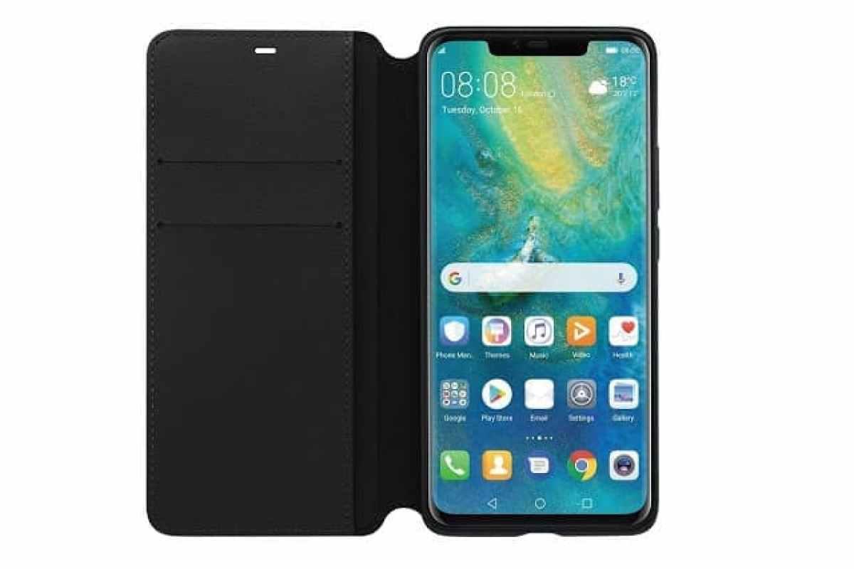- Huawei Mate 20 Pro PU Wallet 2 2 - ภาพหลุด Huawei Mate 20 Pro เป็นไปตามข่าวลือ พร้อม Huawei NM Card ซึ่งเป็น microSD แบบฉบับ Huawei