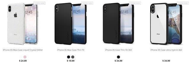 - หลุดอีกชุดก่อนเปิดตัว iPhone 2018 โดยผู้ผลิตเคส Spigen มาทั้งฟิล์มทั้งเคส