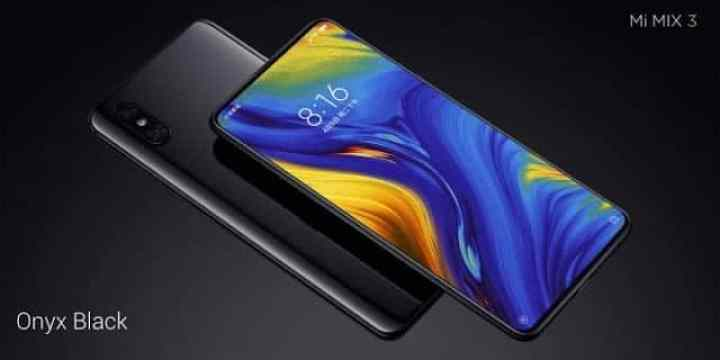 - Xiaomi เปิดตัว Xiaomi Mi Mix 3 หน้าจอ 6.4 นิ้ว กล้องสไลด์
