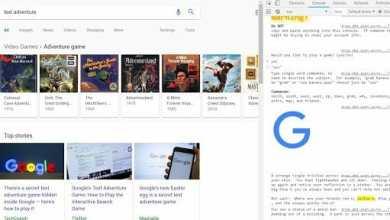 - Google แอบซ่อนเกม Text Adventure ไว้ในโค้ดของ Google.com