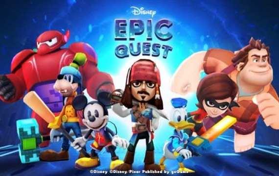 - DisneyEpicQuest 1 - Disney Epic Quest เกมรวมตัวละครจากภาพยนตร์ดังของดิสนีย์และพิกซาร์ เผยโฉมเป็นครั้งแรกในงาน Thailand Game Show 2018