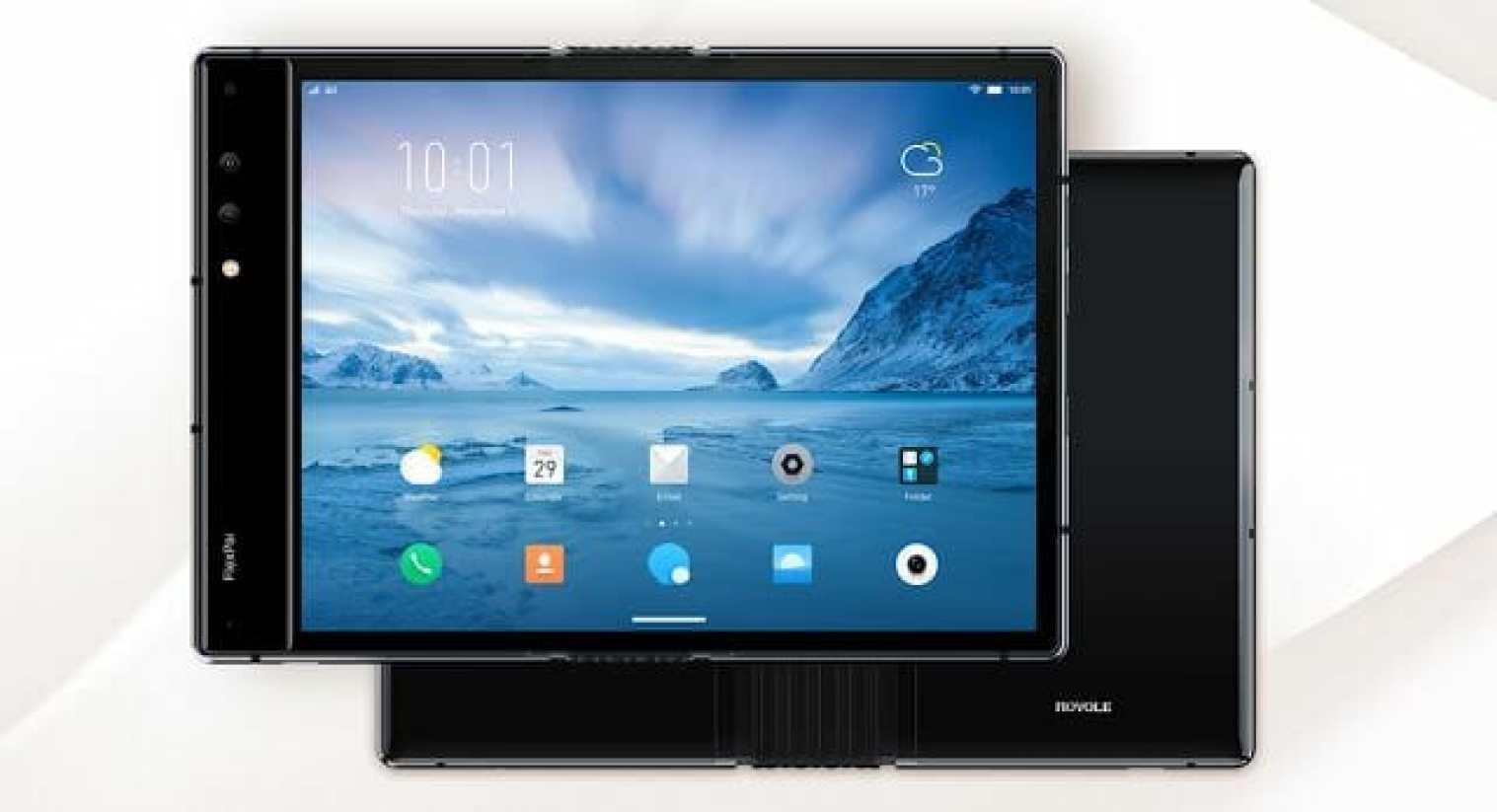 - Screenshot 16 3 - บริษัท Rayole เผยโฉม FlexPai สมาร์ทโฟนจอพับได้รุ่นแรกของโลก