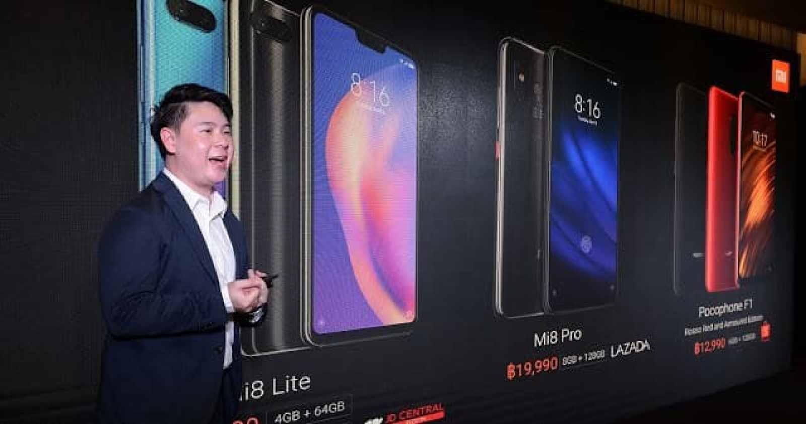 - XiaomiMi8Lite7 1 - Xiaomi เปิดตัวสมาร์ทโฟนรุ่นใหม่ล่าสุด Mi 8 Lite และ Mi 8 Pro ครั้งแรกในประเทศไทย