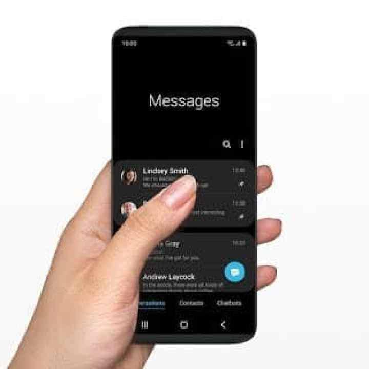 - one ui feature2 1 pc 2 - Samsung เปิดตัวส่วนติดต่อผู้ใช้ใหม่ในชื่อ One UI ใช้งานมือถือจอใหญ่ได้สะดวกขึ้น มีโหมดใช้งานตอนกลางคืน