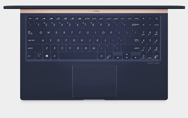 - 08 keyboard - รีวิว ASUS Zenbook 15 UX533FD แล็ปท็อปจอขอบบางเฉียบ สวยงามจนต้องเหลียวมอง