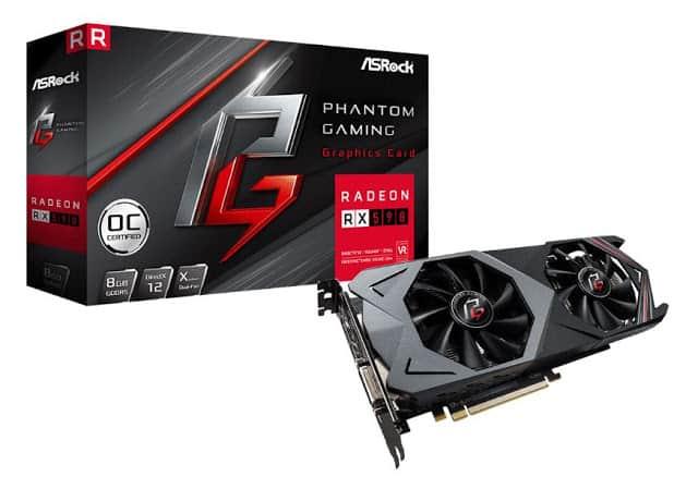- AMDRadeonRX590 phantomgaming card - ASRock นำการ์ดจอระดับไฮเอนด์ Phantom Gaming X Radeon RX590 8G OC ลงสู่ตลาดพร้อมโปรพิเศษจาก AMD