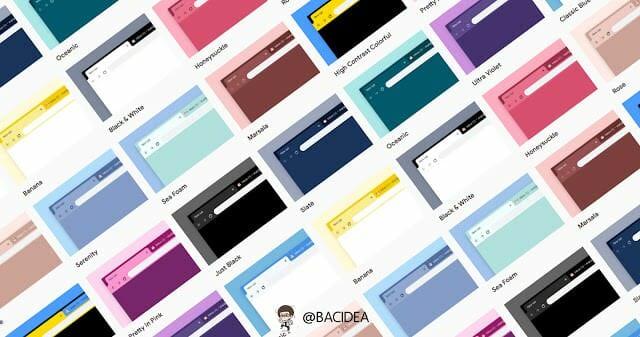 - BACcover 22 - Chrome สำหรับ Desktop เปิดตัวธีมใหม่ 12 สี พร้อมสีดำ Just Black