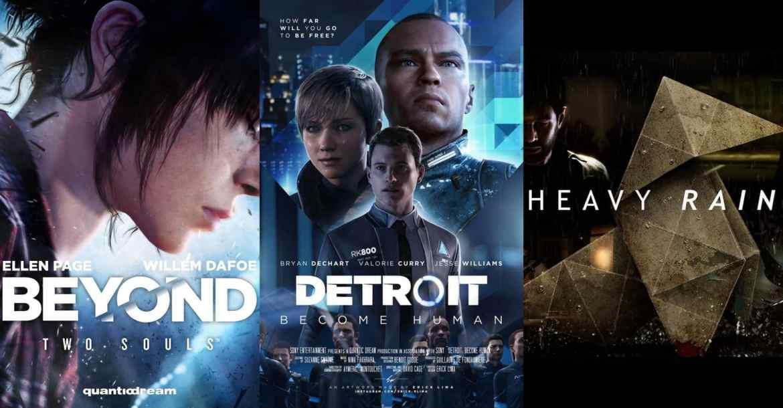 beyond: two souls, detroit: become human, heavy rain เตรียมลง pc ทาง epic games store - Beyond: Two Souls, Detroit: Become Human, Heavy Rain เตรียมลง PC ทาง Epic Games store