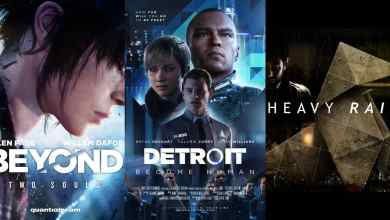 beyond: two souls, detroit: become human, heavy rain เตรียมลง pc ทาง epic games store - Beyond: Two Souls, Detroit: Become Human, Heavy Rain เตรียมลง PC ทาง Epic Games store