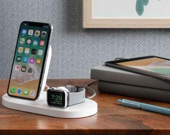 belkin เปิดตัวแท่นชาร์จไร้สาย boost↑up แบบ 3 in 1 ได้ทั้ง iphone, watch และช่อง usb-a - CBgX vlE - Belkin เปิดตัวแท่นชาร์จไร้สาย BOOST↑UP แบบ 3 in 1 ได้ทั้ง iPhone, Watch และช่อง USB-A