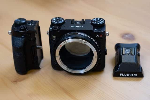 - Fujifilm GFX XCEA9 modular medium format mirrorless camera prototype 1 2 - ชมกล้องต้นแบบ Fujifilm GFX XΩ กล้อง Medium Format แบบ Modular เปลี่ยนชิ้นส่วนได้