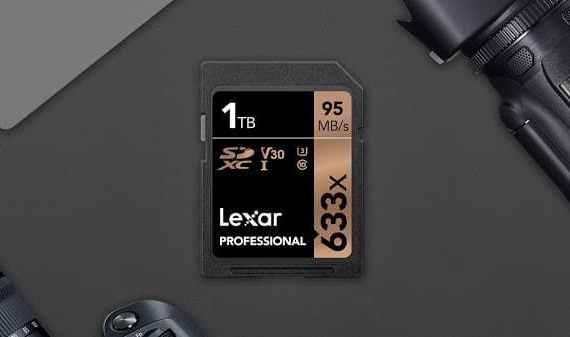 - Lexar SD 633x 1TB PR - ทะลุลิมิต Lexar พร้อมจำหน่าย SD card ความจุ 1 TB แล้ว ราคาหลักหมื่น