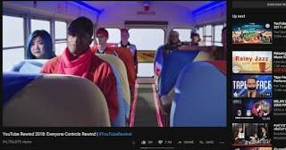 - วิดีโอ YouTube Rewind 2018 ติดอันดับวิดีโอที่มียอด Dislike สูงสุดเป็นอันดับ 2